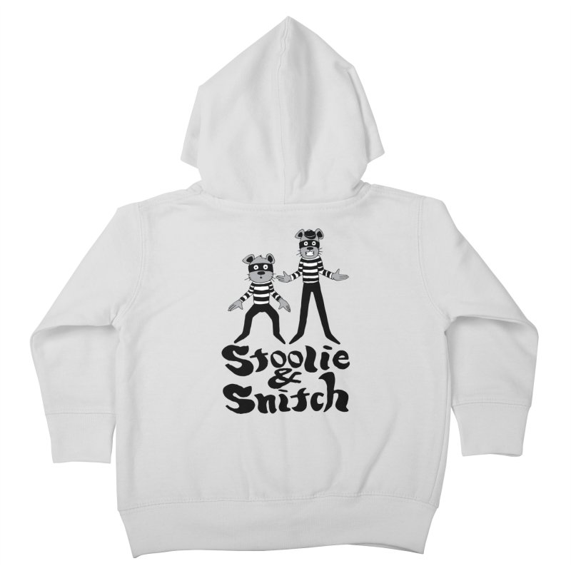 Stoolie & Snitch Kids Toddler Zip-Up Hoody by Jesse Quam