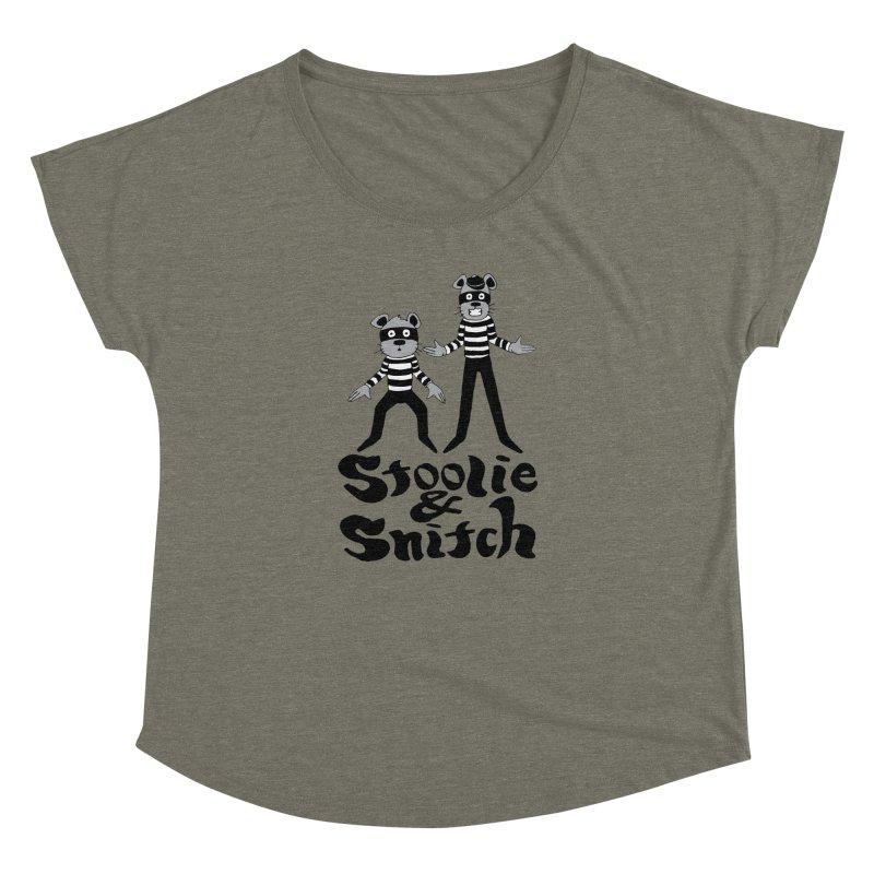 Stoolie & Snitch Women's Dolman Scoop Neck by Jesse Quam