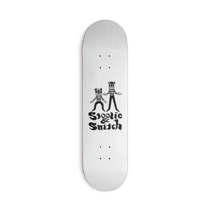 Stoolie & Snitch Accessories Deck Only Skateboard by Jesse Quam