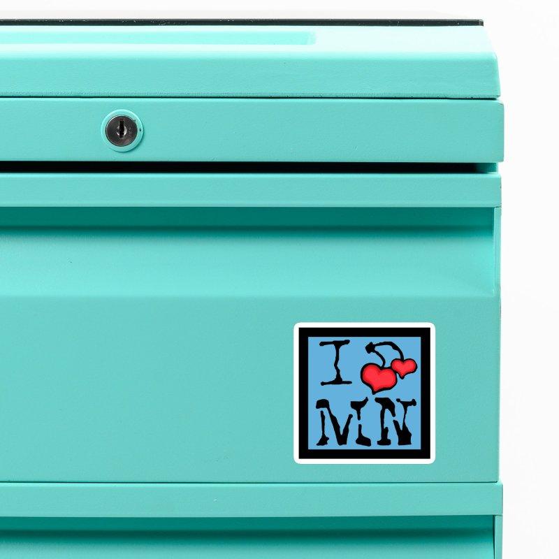 I Cherry MN Accessories Magnet by Jesse Quam