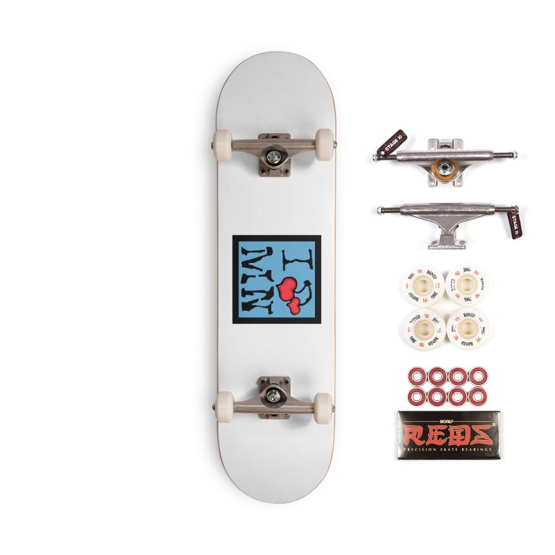 I Cherry MN Accessories Complete - Pro Skateboard by Jesse Quam