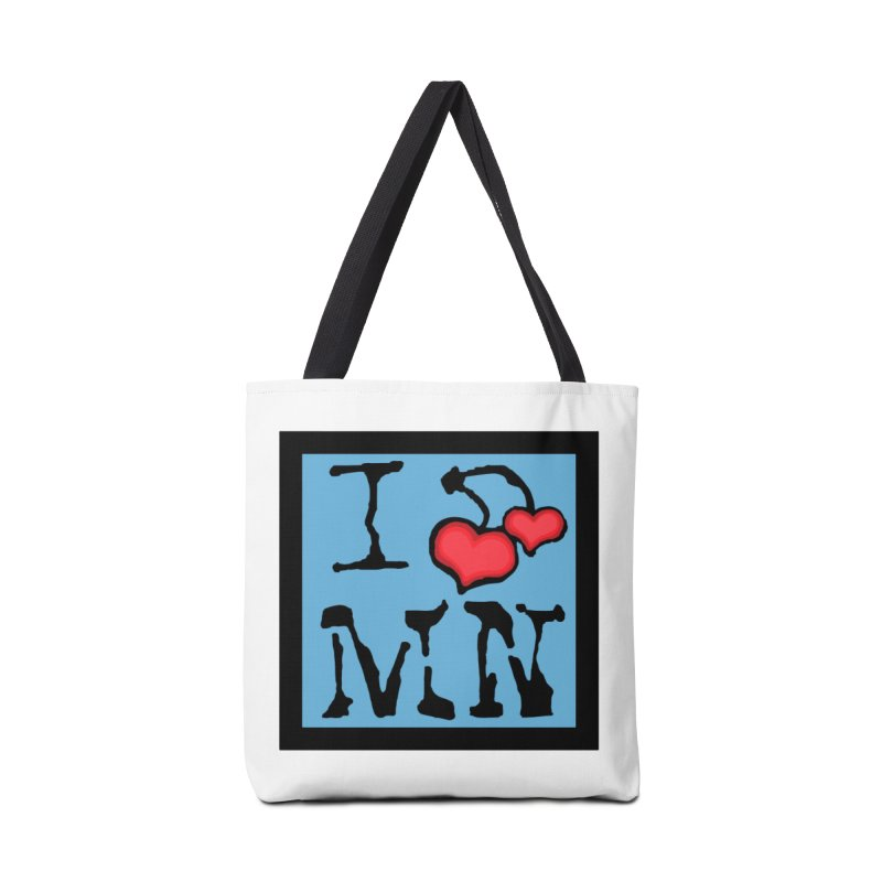 I Cherry MN Accessories Tote Bag Bag by Jesse Quam