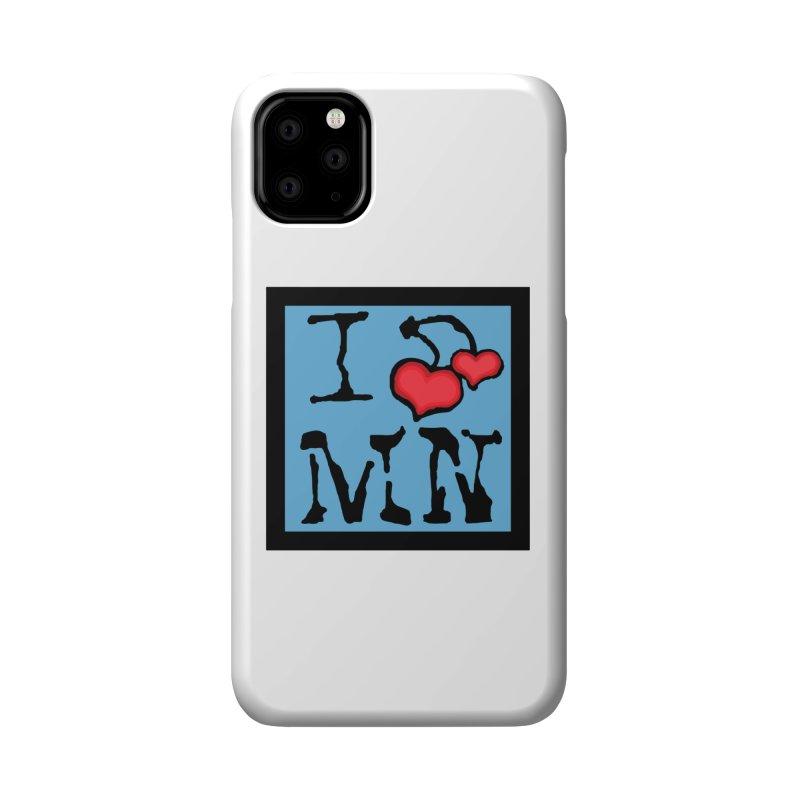 I Cherry MN Accessories Phone Case by Jesse Quam