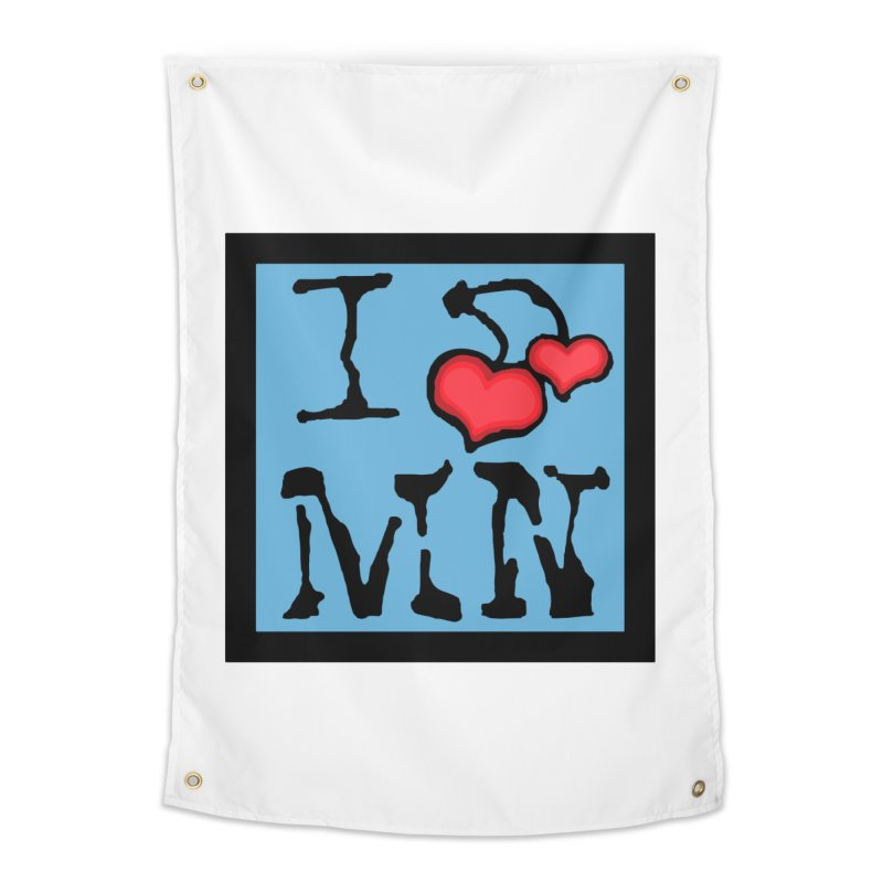 I Cherry MN Home Tapestry by Jesse Quam