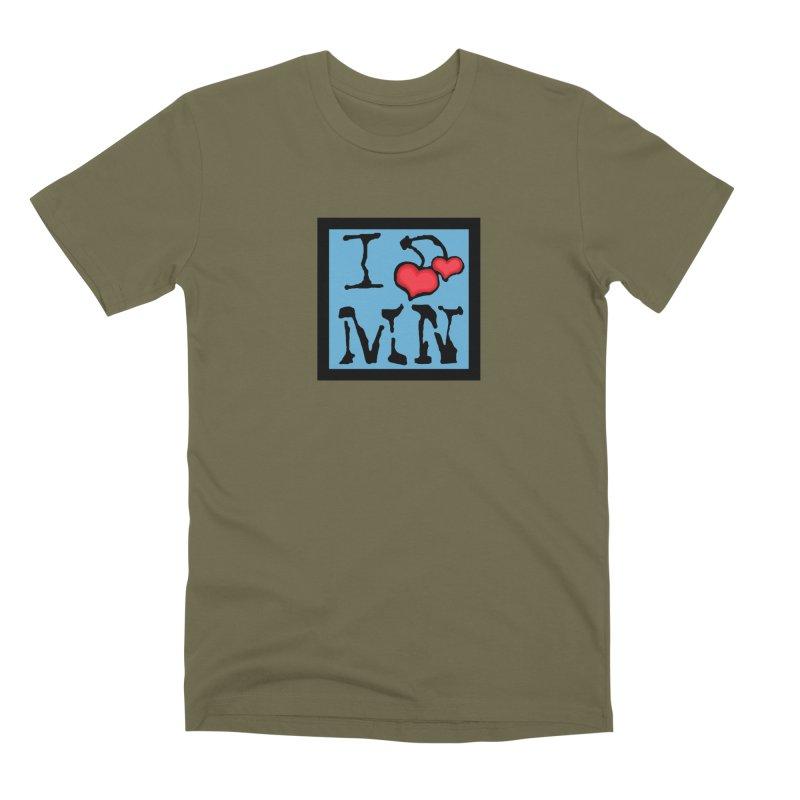 I Cherry MN Men's Premium T-Shirt by Jesse Quam