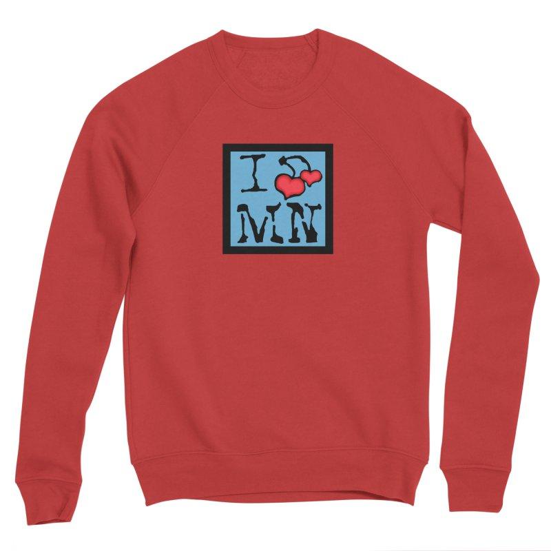 I Cherry MN Women's Sponge Fleece Sweatshirt by Jesse Quam