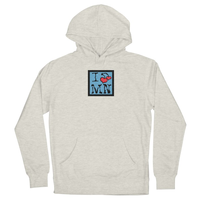 I Cherry MN Men's French Terry Pullover Hoody by Jesse Quam