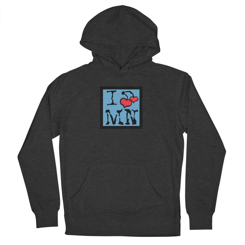 I Cherry MN Women's French Terry Pullover Hoody by Jesse Quam