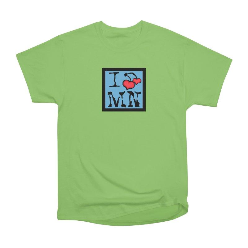 I Cherry MN Women's Heavyweight Unisex T-Shirt by Jesse Quam