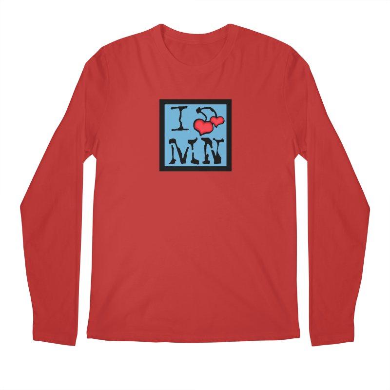 I Cherry MN Men's Regular Longsleeve T-Shirt by Jesse Quam