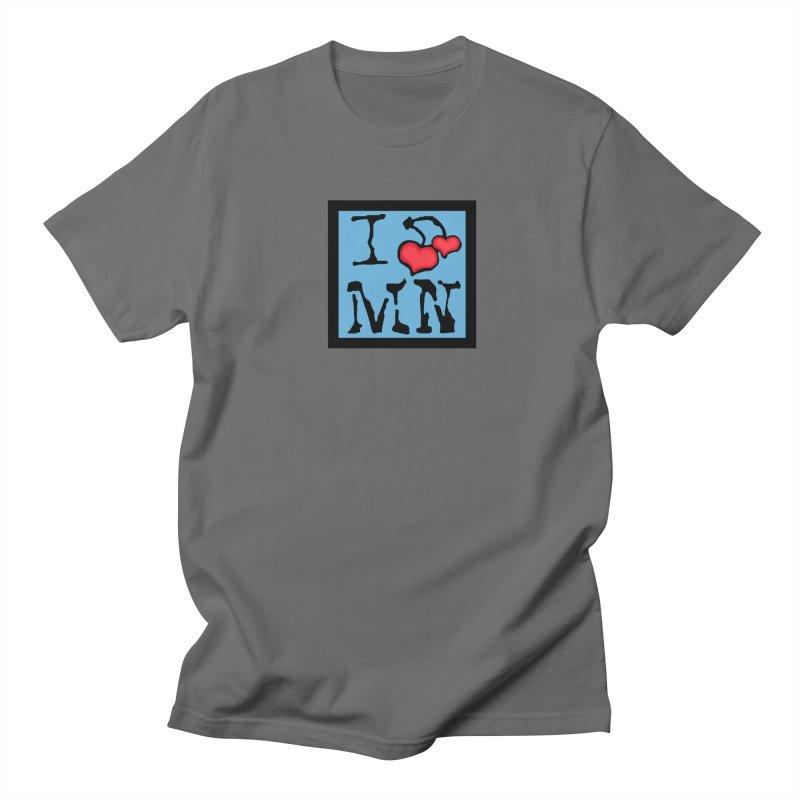 I Cherry MN Men's T-Shirt by Jesse Quam