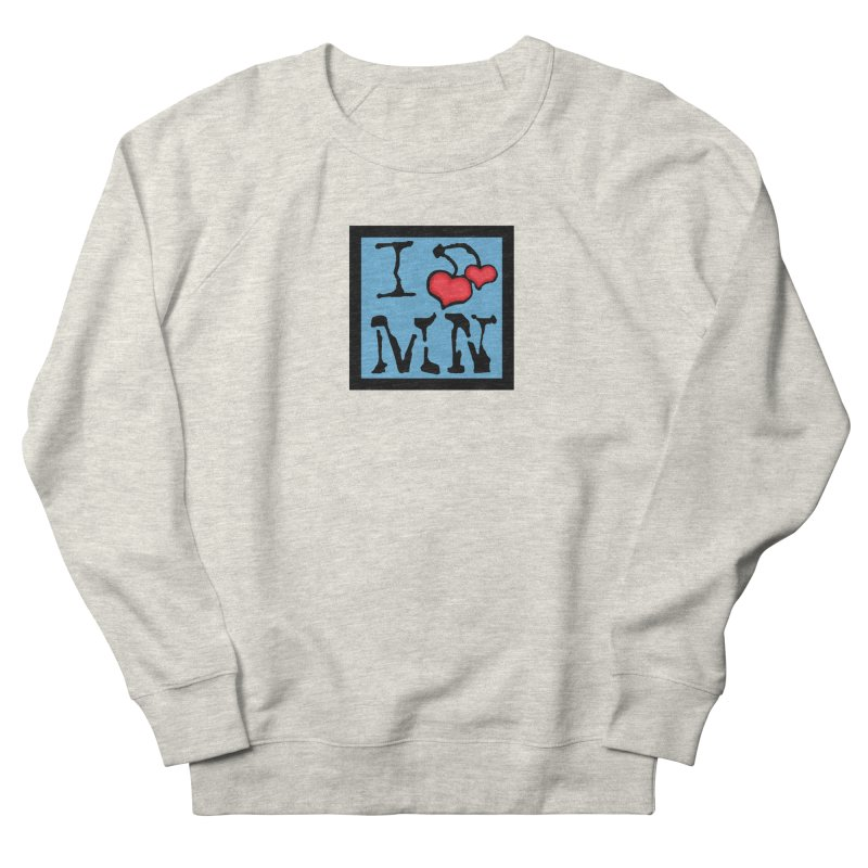 I Cherry MN Women's French Terry Sweatshirt by Jesse Quam