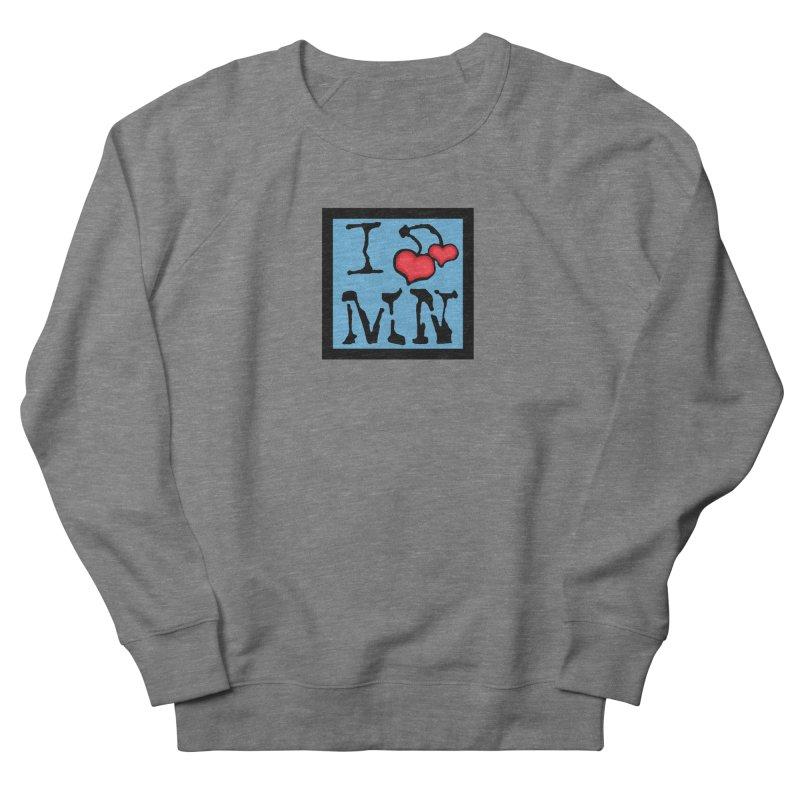 I Cherry MN Men's French Terry Sweatshirt by Jesse Quam