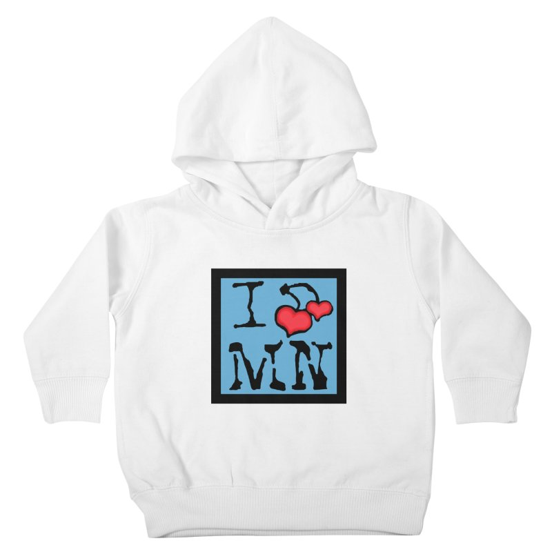 I Cherry MN Kids Toddler Pullover Hoody by Jesse Quam