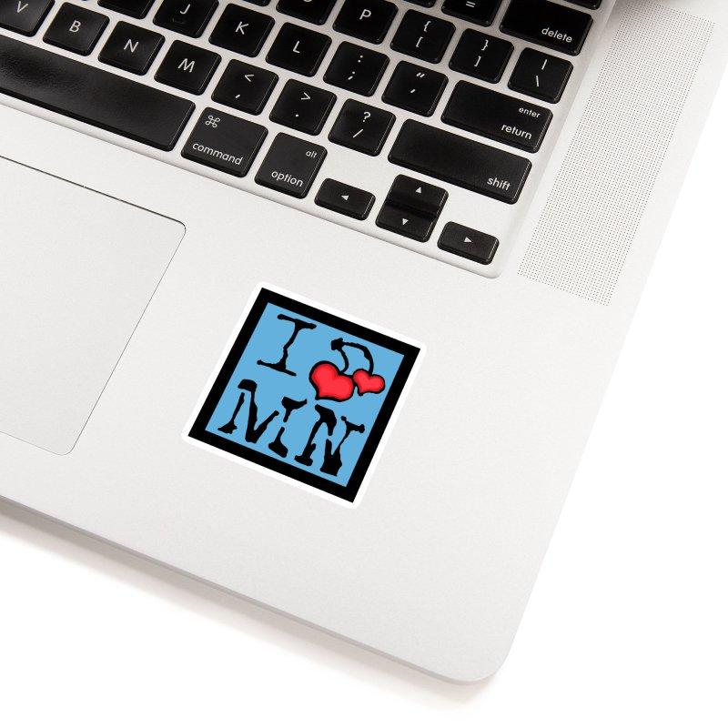 I Cherry MN Accessories Sticker by Jesse Quam