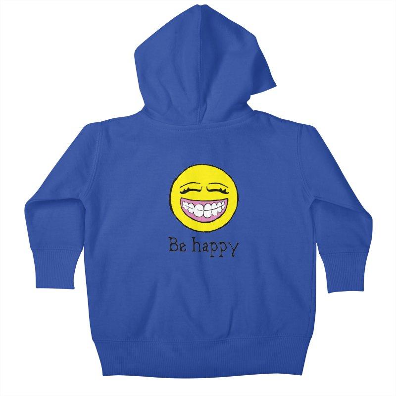 Be Happy Kids Baby Zip-Up Hoody by Jesse Quam