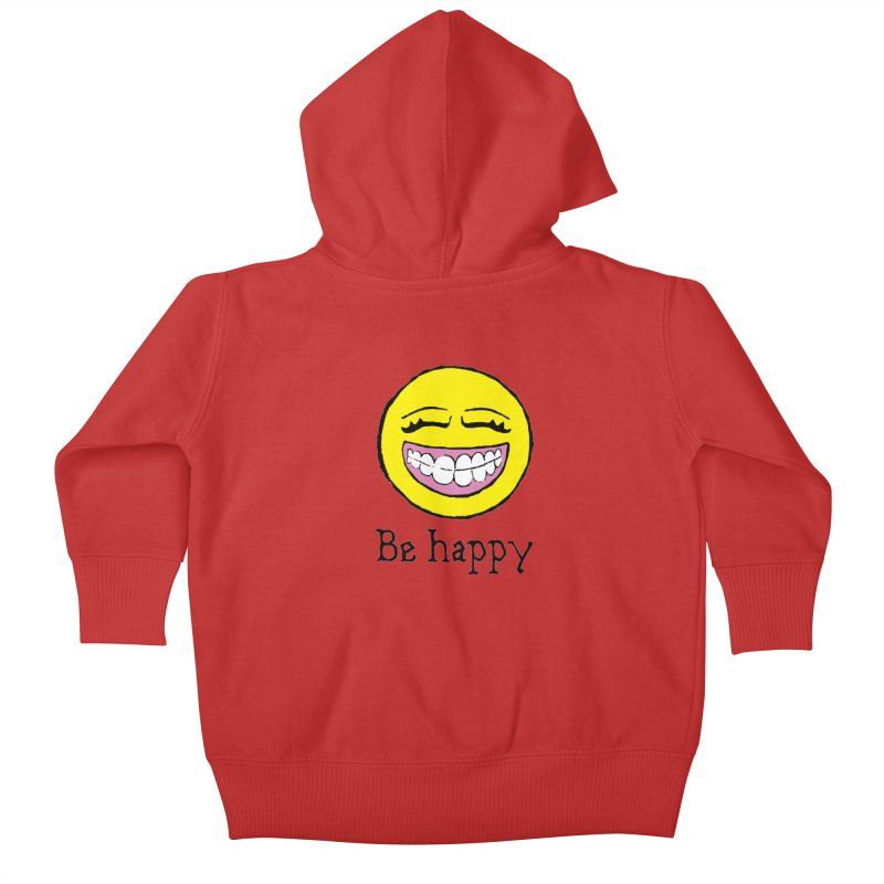 Be Happy Kids Baby Zip-Up Hoody by Jesse Quam