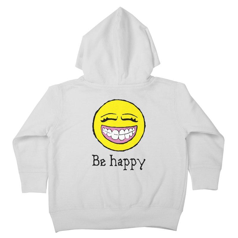 Be Happy Kids Toddler Zip-Up Hoody by Jesse Quam