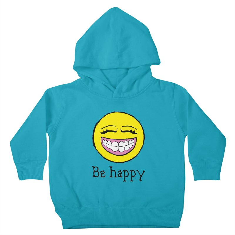 Be Happy Kids Toddler Pullover Hoody by Jesse Quam
