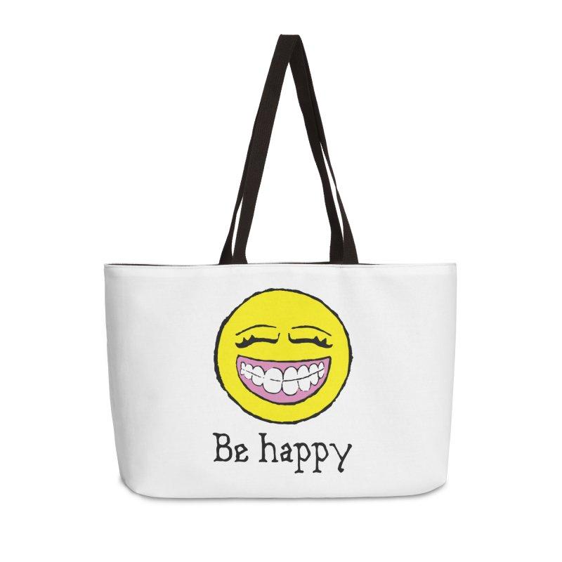 Be Happy Accessories Weekender Bag Bag by Jesse Quam