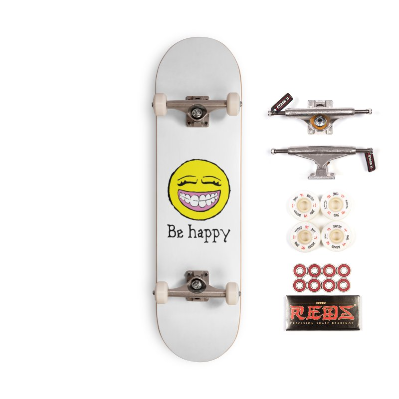Be Happy Accessories Complete - Pro Skateboard by Jesse Quam