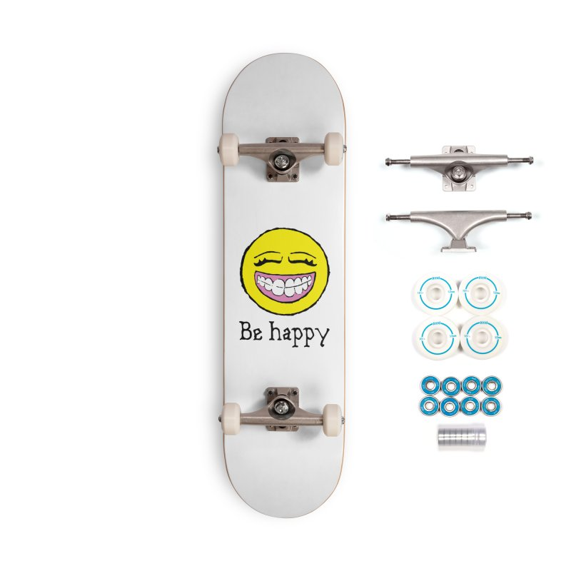 Be Happy Accessories Complete - Basic Skateboard by Jesse Quam