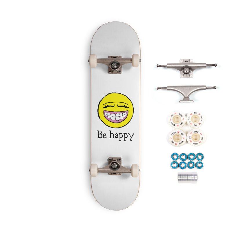 Be Happy Accessories Complete - Premium Skateboard by Jesse Quam