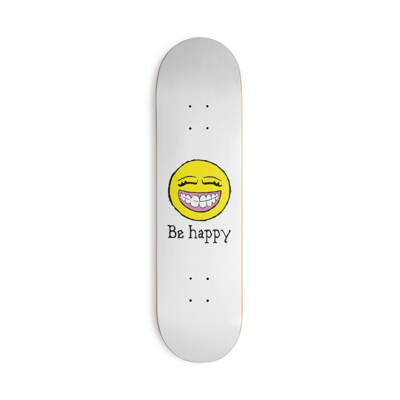 Be Happy Accessories Deck Only Skateboard by Jesse Quam
