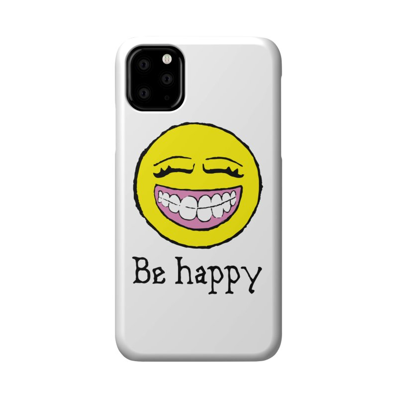 Be Happy Accessories Phone Case by Jesse Quam