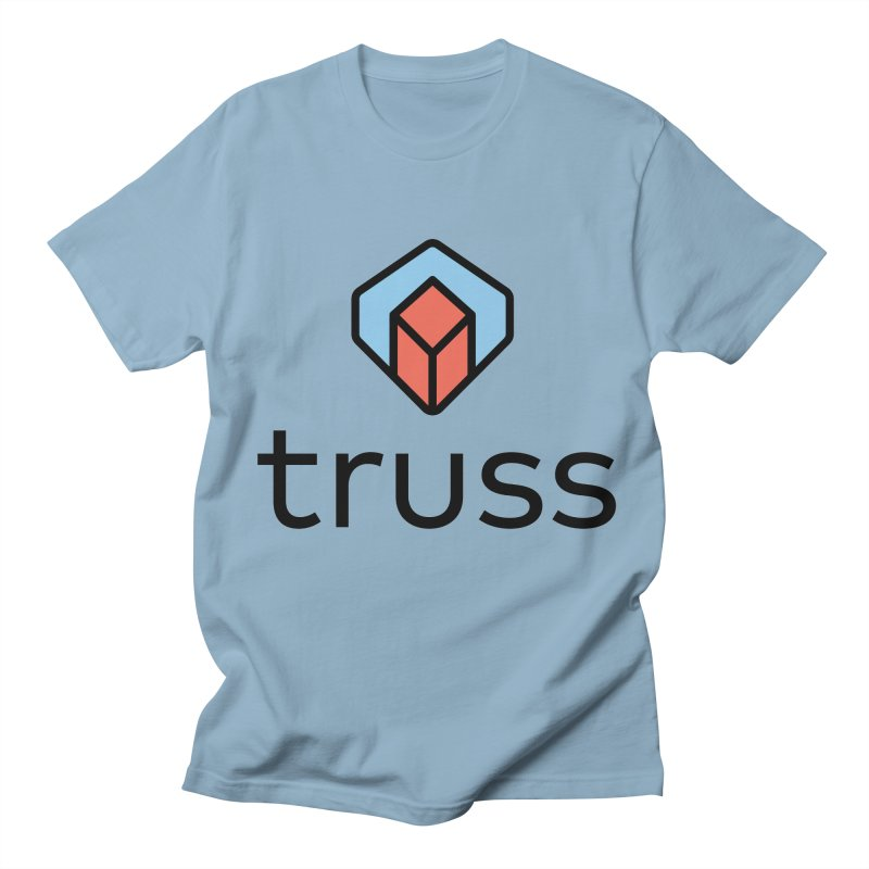 Truss Tee - Front test Men's Regular T-Shirt by jesshanebury's Artist Shop