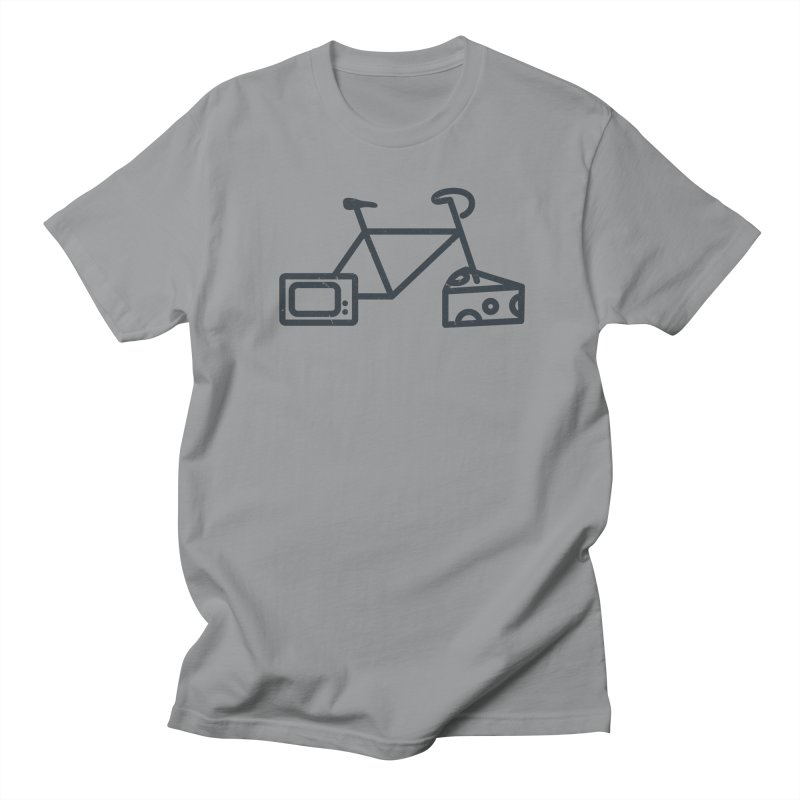 Bikes Cheese TV Men's Regular T-Shirt by jesshanebury's Artist Shop