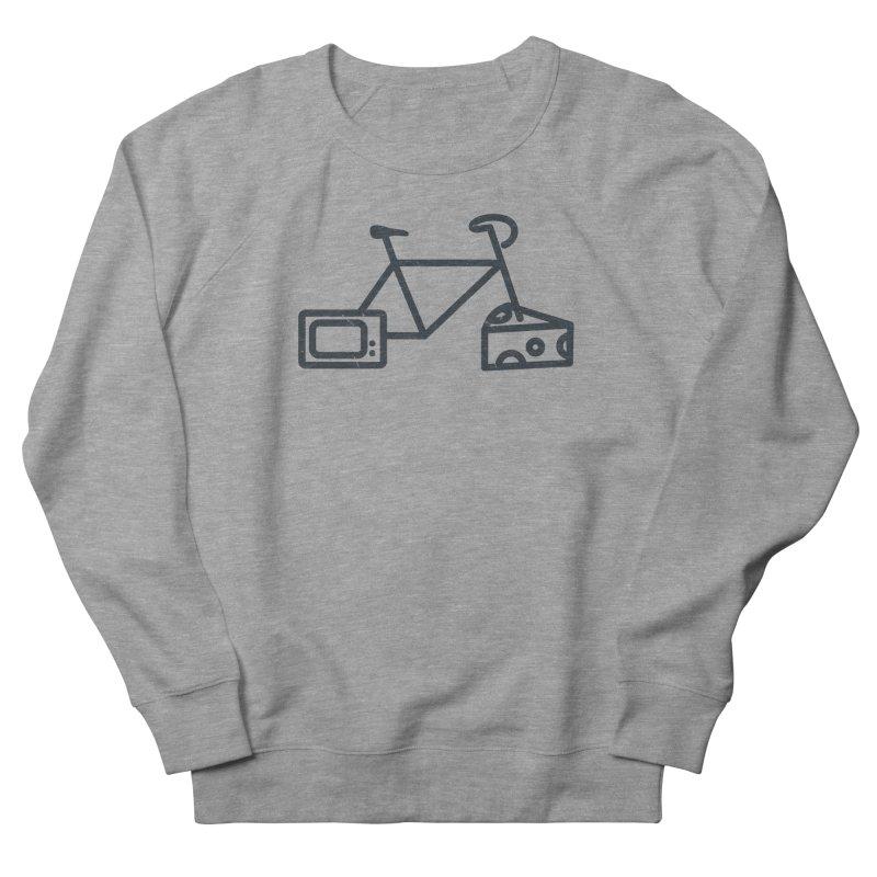Bikes Cheese TV Men's Sweatshirt by jesshanebury's Artist Shop