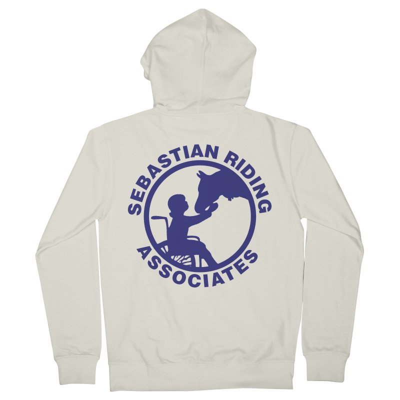 Sebastian Riding Logo Men's Zip-Up Hoody by jesshanebury's Artist Shop