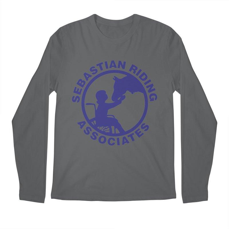 Sebastian Riding Logo Men's Longsleeve T-Shirt by jesshanebury's Artist Shop