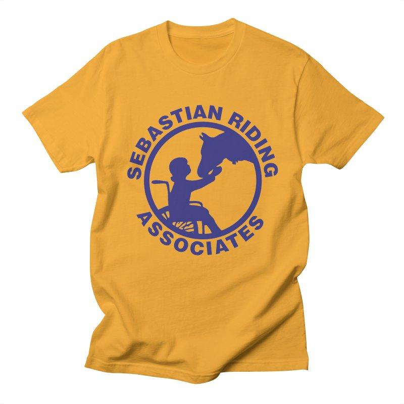Sebastian Riding Logo Men's T-shirt by jesshanebury's Artist Shop