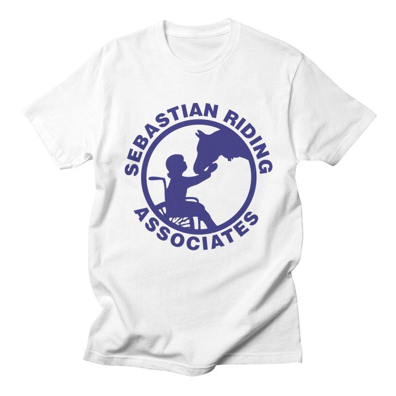 Sebastian Riding Logo Men's Regular T-Shirt by jesshanebury's Artist Shop
