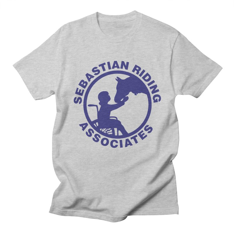 Sebastian Riding Logo Men's Regular T-Shirt by jesshanebury's Artist Shop