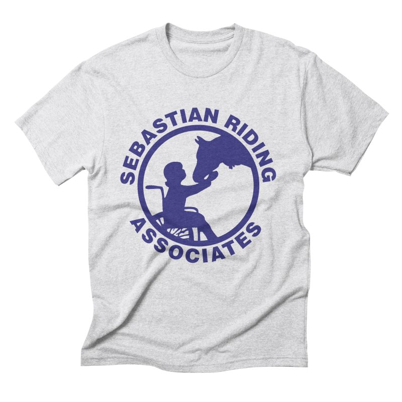 Sebastian Riding Logo Men's Triblend T-Shirt by jesshanebury's Artist Shop