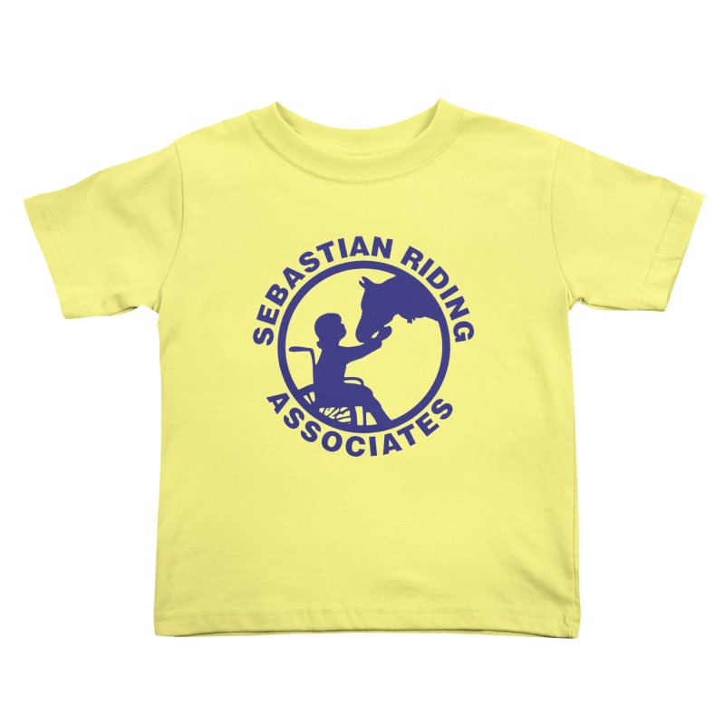 Sebastian Riding Logo Kids Toddler T-Shirt by jesshanebury's Artist Shop