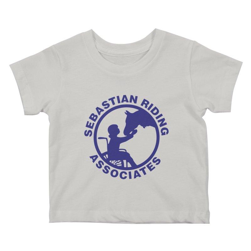 Sebastian Riding Logo Kids Baby T-Shirt by jesshanebury's Artist Shop