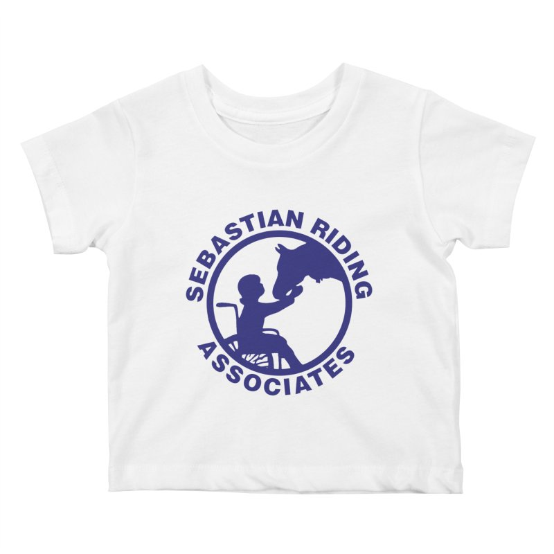 Sebastian Riding Logo Kids Baby T-Shirt by jesshanebury's Artist Shop