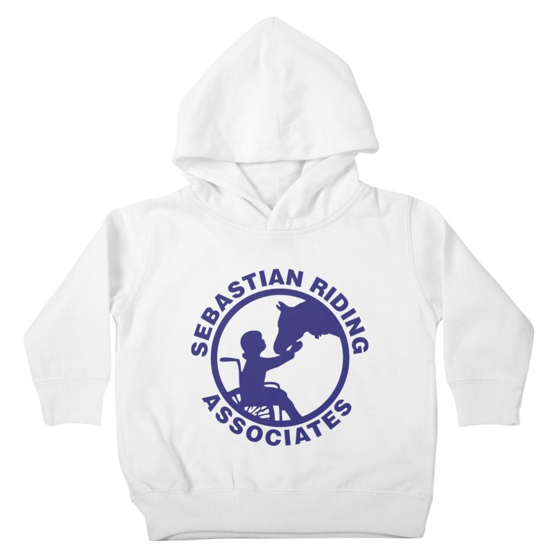Sebastian Riding Logo Kids Toddler Pullover Hoody by jesshanebury's Artist Shop