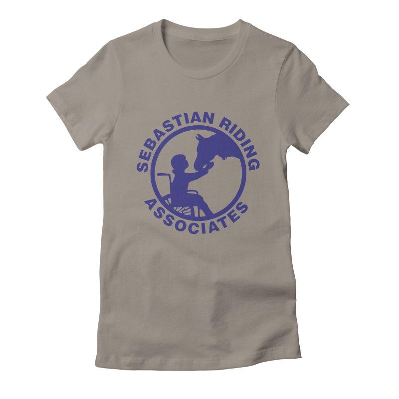 Sebastian Riding Logo Women's Fitted T-Shirt by jesshanebury's Artist Shop