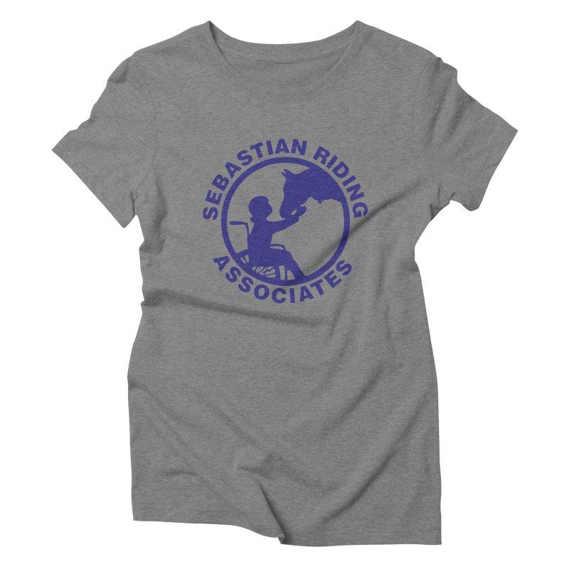 Sebastian Riding Logo Women's Triblend T-shirt by jesshanebury's Artist Shop