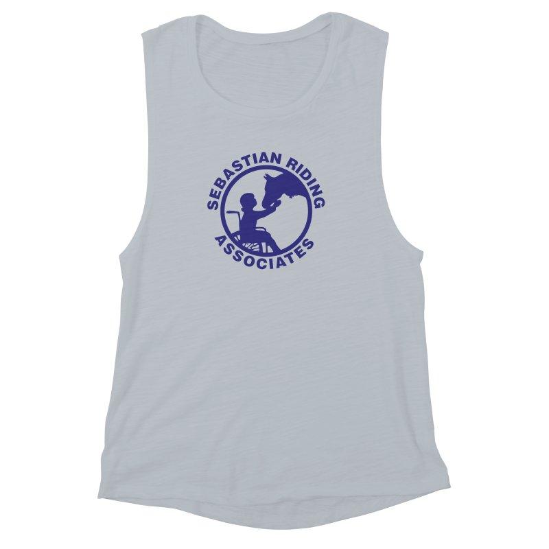 Sebastian Riding Logo Women's Muscle Tank by jesshanebury's Artist Shop