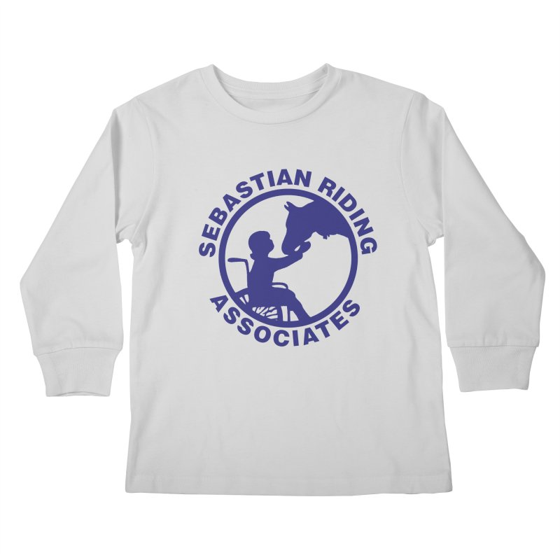 Sebastian Riding Logo Kids Longsleeve T-Shirt by jesshanebury's Artist Shop