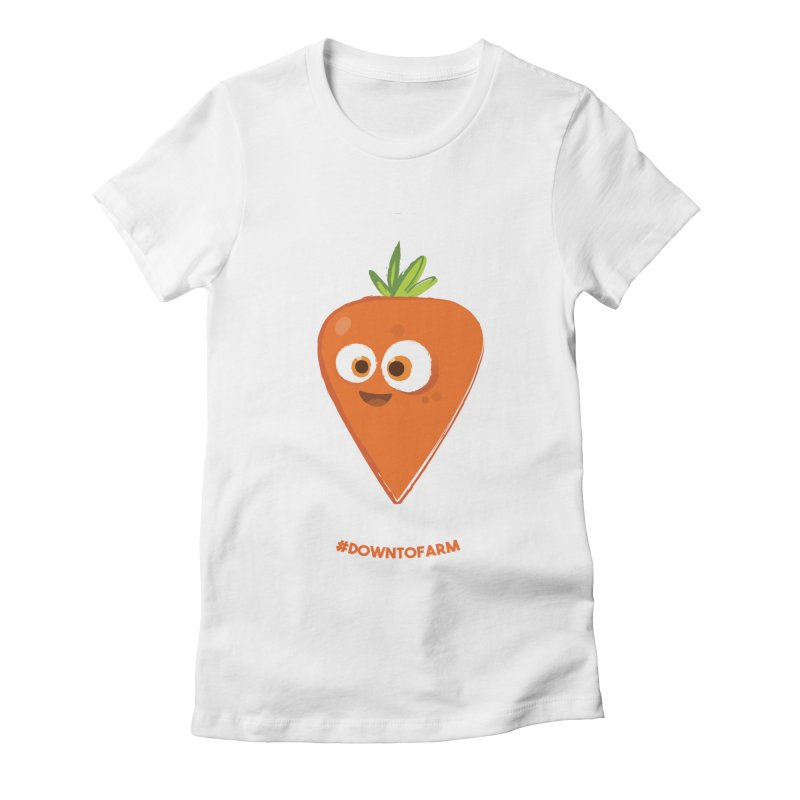 carrot Women's T-Shirt by jesshanebury's Artist Shop