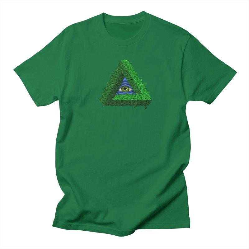 Penroseye Men's T-Shirt by JesFortner