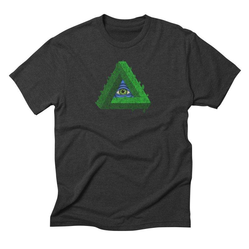 Penroseye Men's Triblend T-Shirt by JesFortner