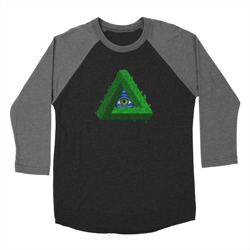 Penroseye Women's Baseball Triblend T-Shirt by JesFortner